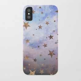 Cloudy Stars iPhone Case