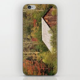 Cades Cove Barn iPhone Skin