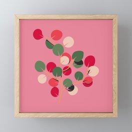 Colourful Plant - Eucalyptus Framed Mini Art Print