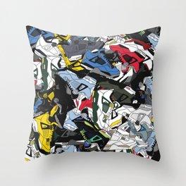 Jordan IV's Throw Pillow