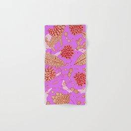 Warm Flower Hand & Bath Towel