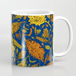 Bright Australian Native Floral Print Coffee Mug