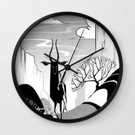 Valleys Wall Clock