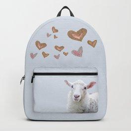 I Love Ewe Backpack