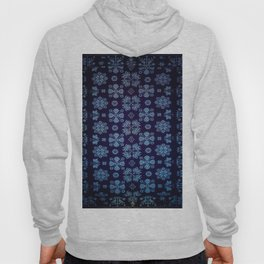 Floral Fabric Vintage Gift Pattern #5 Hoody