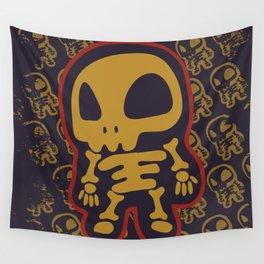 Skeletal  Wall Tapestry