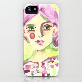 Lavender Lady iPhone Case