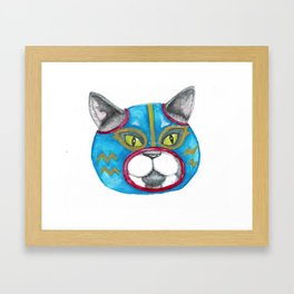 luchabuddy Framed Art Print