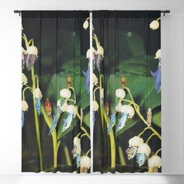 Fishflower Blackout Curtain