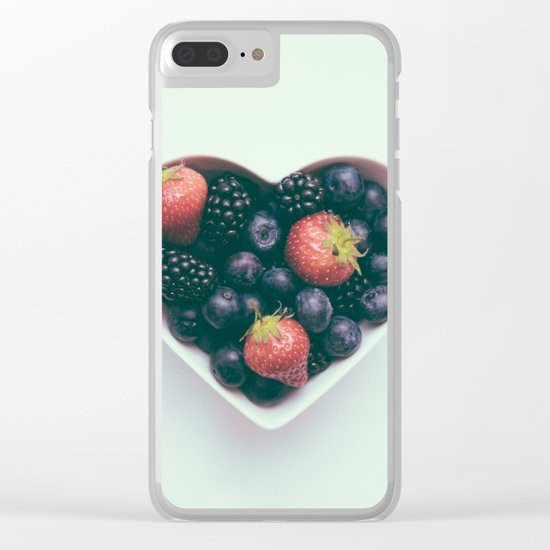 love yourself, eat healthy Clear iPhone Case
