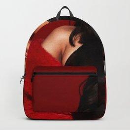 Cardi B tour 2019 sil2 Backpack