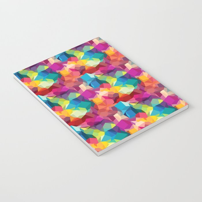 Abstract Colorful pattern Notebook