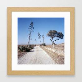 Cabo de Gata, 2012. Framed Art Print