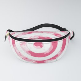Target for Valentine's day-pink with hearts Fanny Pack