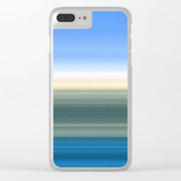 Summer Time in the Valley Clear iPhone Case