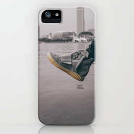 kicks overseas iPhone Case