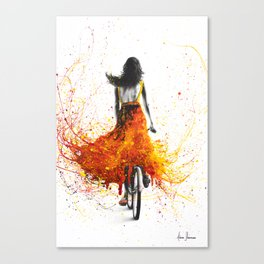 Finding Flames Canvas Print