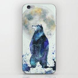 Bear Down The Stars iPhone Skin