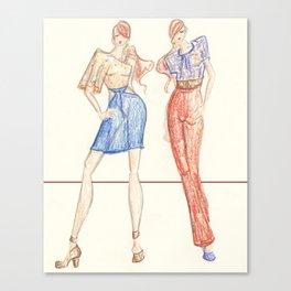 Fashion Print 2 Canvas Print