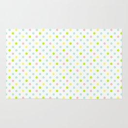 Colorful small polka dot Rug