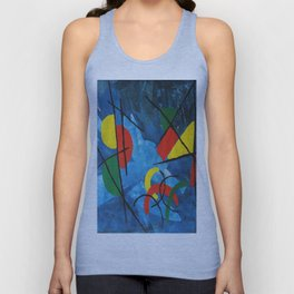 In A Colorful World Unisex Tank Top