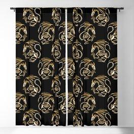 Magic dragon Blackout Curtain