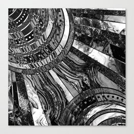 BW sunkissed Canvas Print