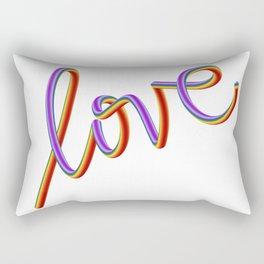 LOVE 2018 Rectangular Pillow