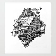 Headquarters Art Print