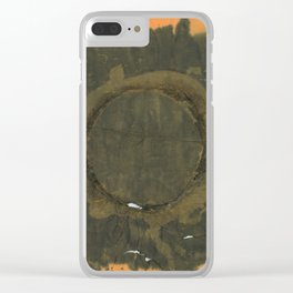 The Third Nothing Clear iPhone Case