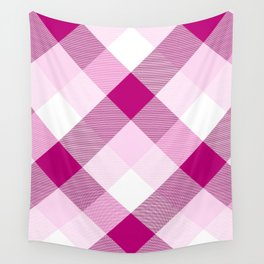 Geometrical Square Abstraction 24 Wall Tapestry
