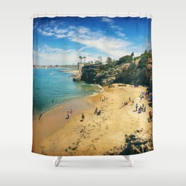 Playful Shores Shower Curtain