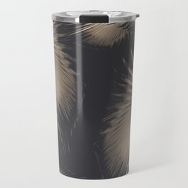 Fan Palm Leaves Paradise #5 #tropical #decor #art #society6 Travel Mug