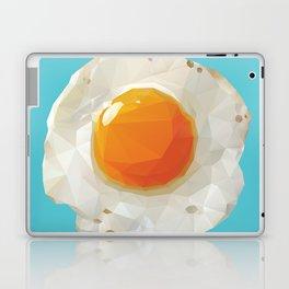 Fried Egg Polygon Art Laptop & iPad Skin