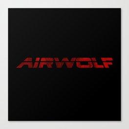 AIRWOLF Canvas Print