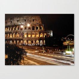 Roma, Colosseo   Rome, colosseum Canvas Print