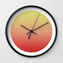 Sunrise Round Wall Clock