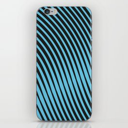 Warped Lines iPhone Skin