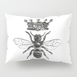 Queen Bee | Black and White Pillow Sham