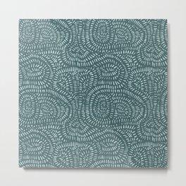 Paths of green Metal Print