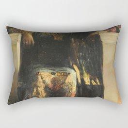 Empress Theodora - Benjamin Constant - 1886 Rectangular Pillow