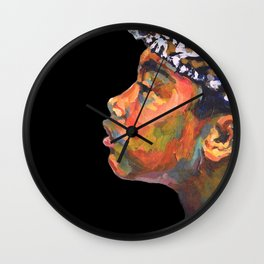 Balinese Boy  Wall Clock