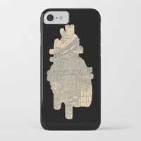 maps iPhone & iPod Cases featuring maps by yayanastasia