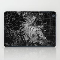 denver iPad Cases featuring Denver map by Line Line Lines