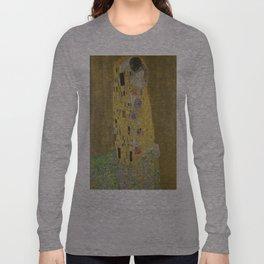 Gustav Klimt's The Kiss Long Sleeve T-shirt