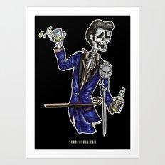 The Hook! Art Print