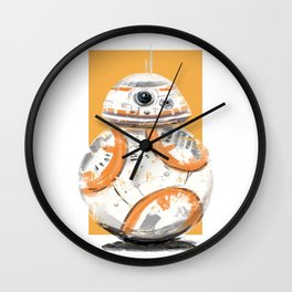Roly Poly 8 Wall Clock