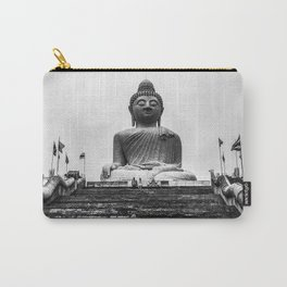 Girl and Buddha Carry-All Pouch