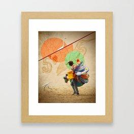 BeachPeople Framed Art Print