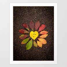 Leaf Love No.3 Art Print